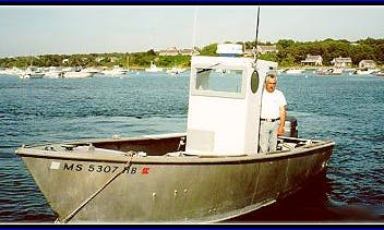 "Enjoy Fishing On 23ft 'Brandi Ellen"" Center Console In Chatham, Massachusetts"