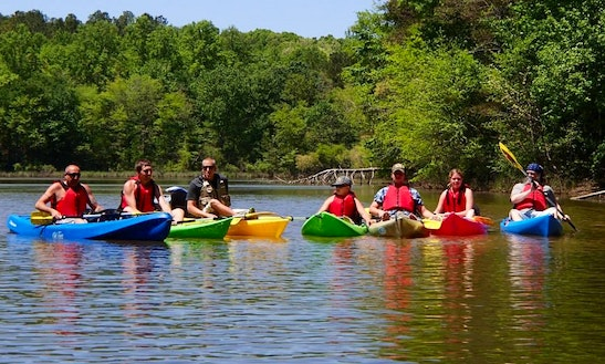 Double Kayak Rentals And Tours In Catawba, Nc