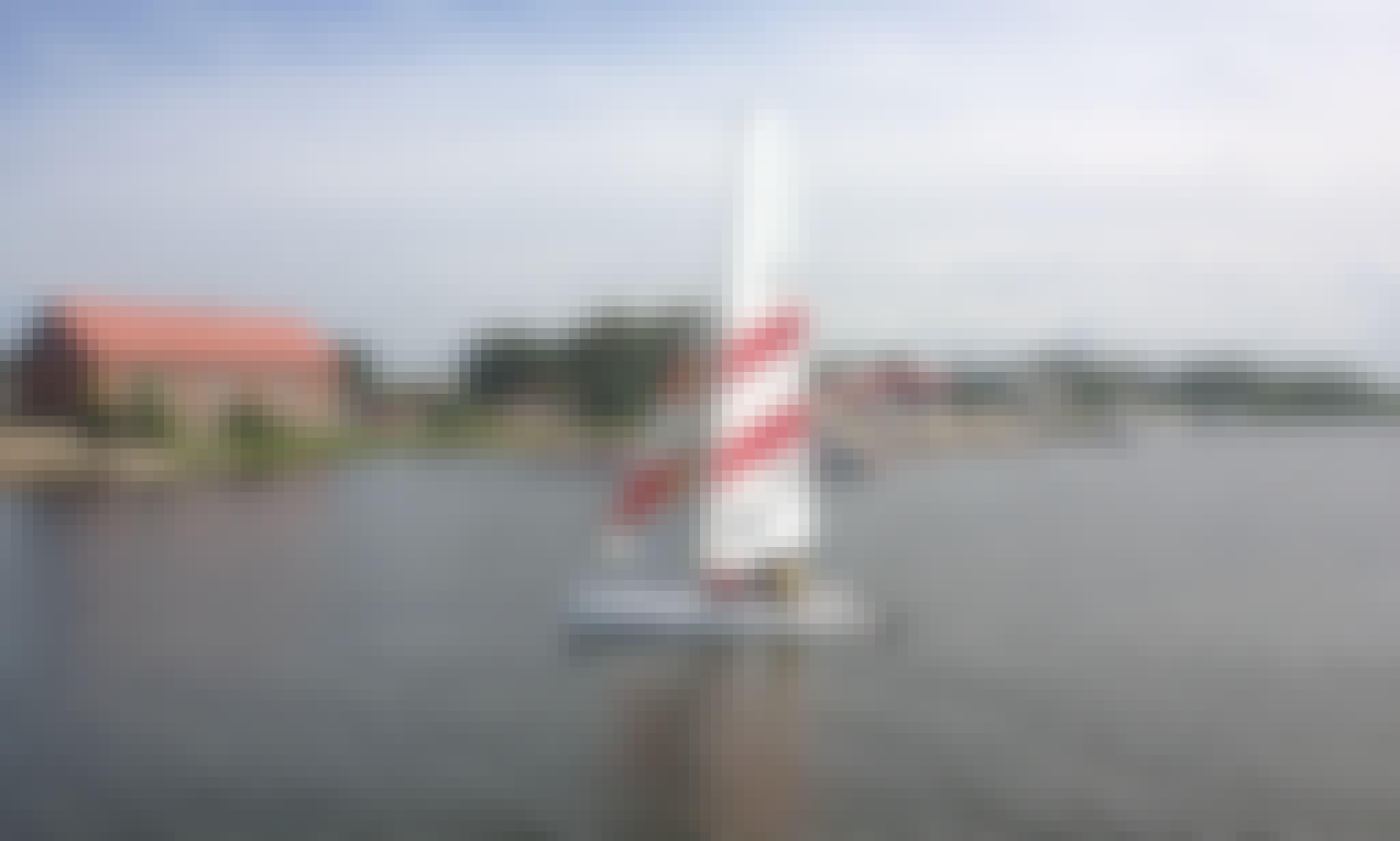 17ft TOPCAT K2 CLASSIC Beach Catamaran Rental in Pavilosta, Latvia
