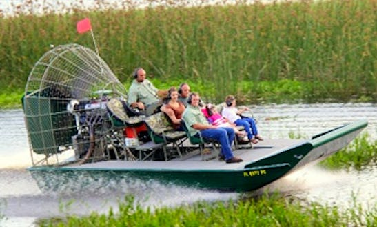 Amazing Air Boat Tours In Kenansville, Fl