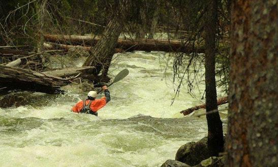Kayak Lessons On The Clark Fork River