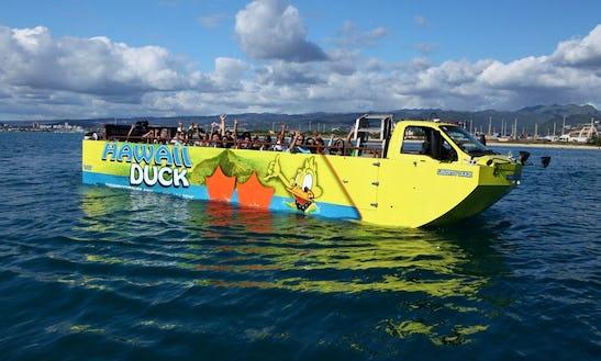 Duck Vessel Tour In Honolulu