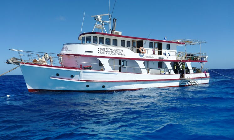 Scuba Excursions aboard the 72' KINDA Monohull Charter in Townsville City, Australia