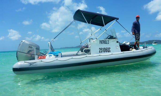 Scuba Excursions aboard the PATROL 2 RIB Charter in Townsville City, Australia