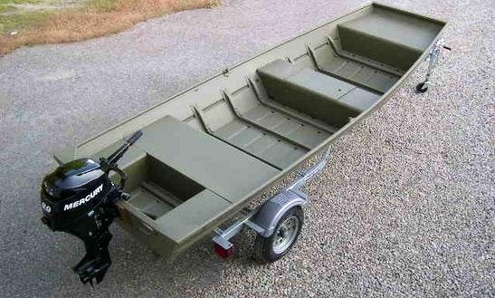 Enjoy The 18' Jon Boat  In Heathsville, Virginia