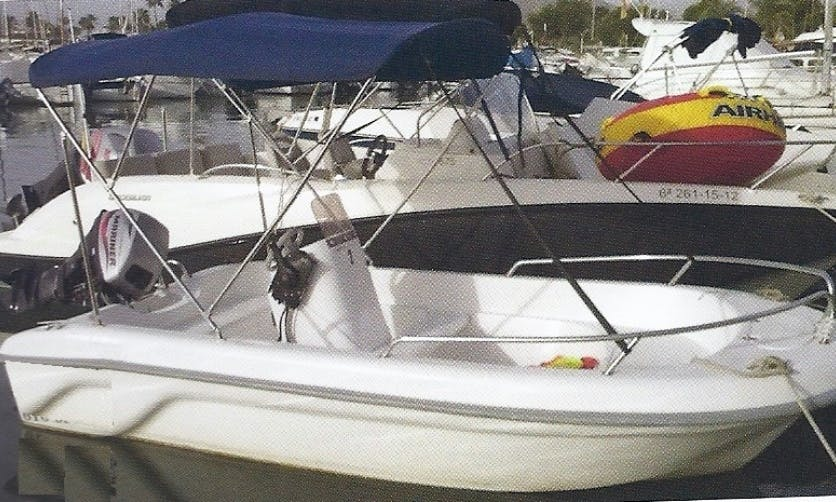 Astec Fiber Boat for Rent in Alcúdia