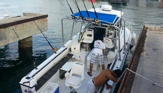 26' Trawler Charter In Cozumel, Mexico