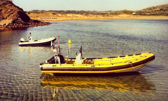 24' Astec Pneumatic Speed Boat In Fornells