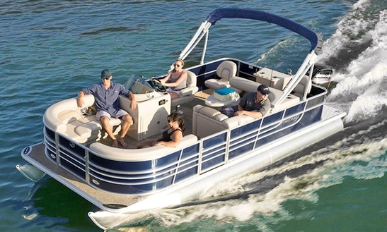 Luxury Pontoon ''cruise N' Fish'' Charter In Illes Balears