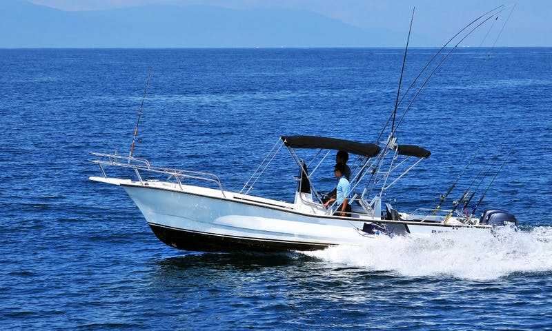 Super Panga 25ft Boat, Puerto Vallarta