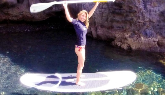 Stand Up Paddle Rental And Lanzarote Excursion