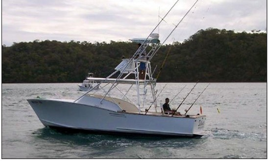 Fishing Charter  ''silouetha'' In Costa Rica
