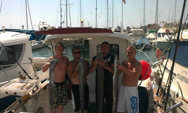 Manilva Charter Fishing for 6 Person in