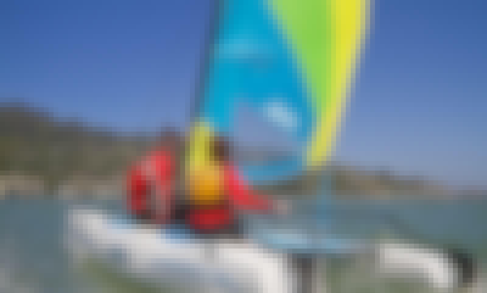 13ft Hobie Wave Boat Rental in Chatham, Massachusetts