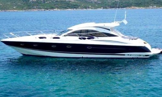 Sunseeker Camargue 50 Motor Yacht Charter in Spain