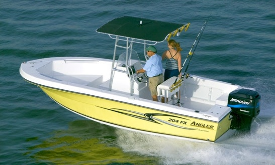 20ft Angler 204 Fx Center Console Fishing Charter In Richland