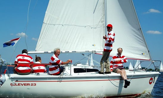 Sailing Charter 'clever 23'  In Sneek