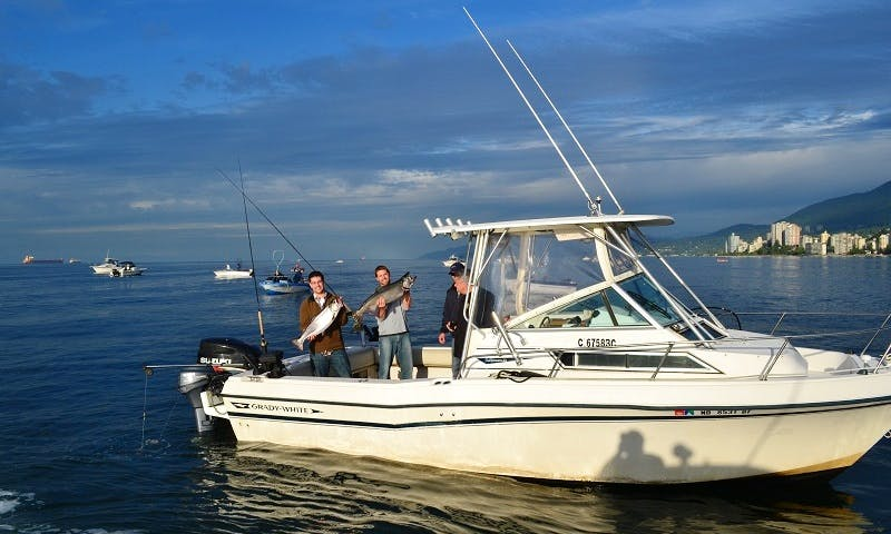 Cuddy Cabin Fishing Charter in Vancouver, Canada