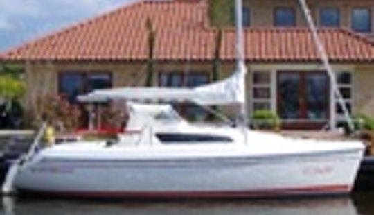 Sailing Charter 'clever 24.5'  In Sneek