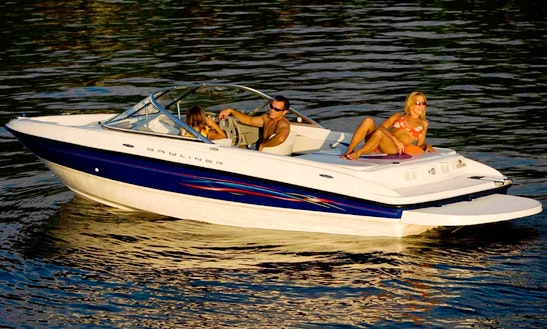 Bayliner 185 Bowrider For 7 Person Available To Rent In Lombardia, Italy