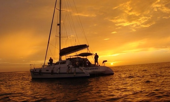 40' Sailing Catamaran In Namibia