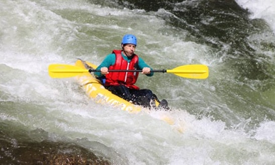 Rent Sit-on-top Inflatable Kayaks In Bryson City