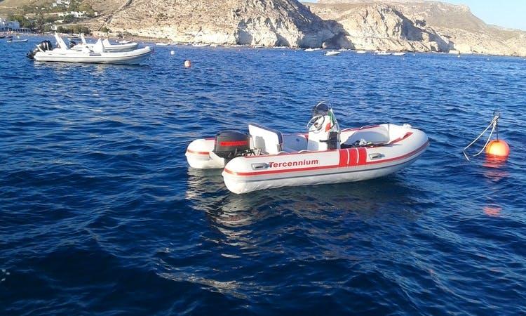 "Charter ""Rigid TERCENNIUM 400"" in Andalucía"