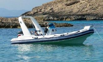 "Charter ""Astec Day Cruiser 550""  in Andalucía"