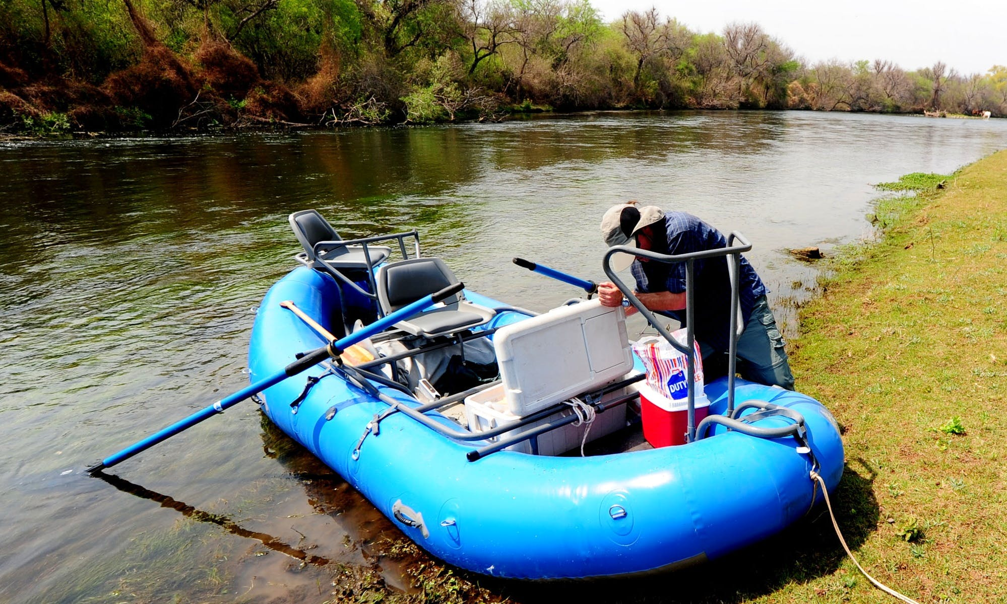 Raft Boat & Guided Fishing In Bolivia