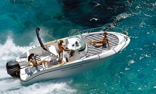 Rent 22' Key Largo Luxury Center Console In Balears, Spain