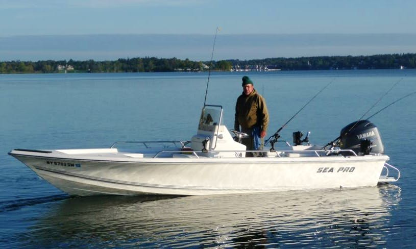 Oneida Lake Sea-Pro Fishing Charter