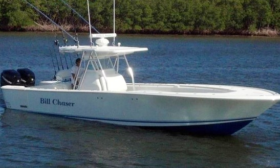 35ft Revenge Lt Center Console Boat Fishing Charter In Highlands, New Jersey