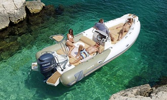 "Charter ""Zodiac Medline 550"" in Spain"