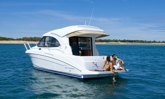"Motor Yacht "" Beneteau Antares 8"" Charter in Spain"