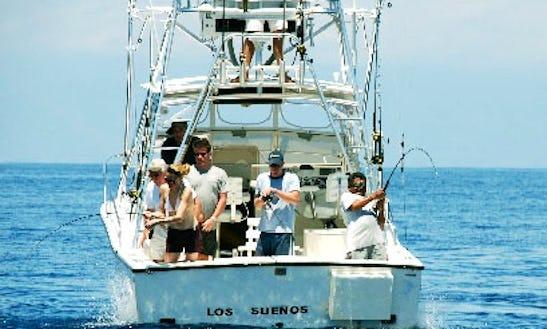 28' Offshore Fishing Yacht In Herradura