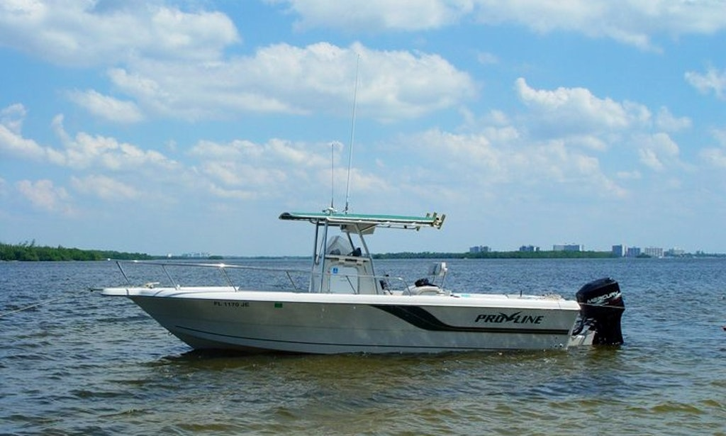 Enjoy fishing in cape coral florida on 25 39 proline center for Cape coral fishing charters