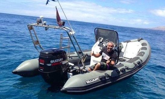 Rib Diving Charter In Costa Teguise, Lanzarote, Spain