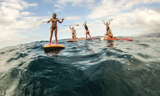 Paddleboard Tour In Buenavista Del Norte, Spain