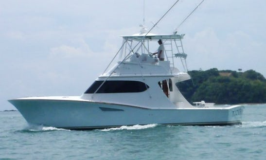 43' Tijereta Sport Fisherman Charter In Herradura, Costa Rica