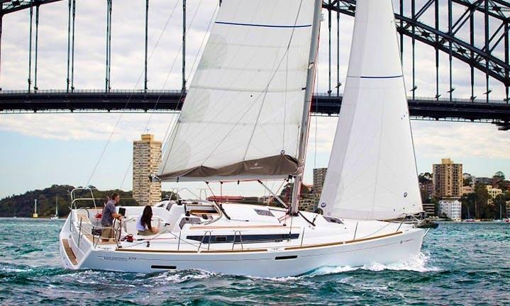 Charter on Sun Odyssey 379  in Biograd na Moru