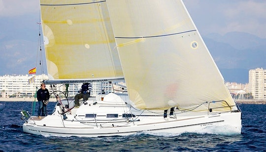 Charter On Elan 37 In Biograd Na Moru