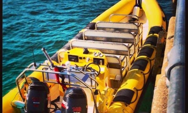 27' Revel V RIB Boat In St Ives