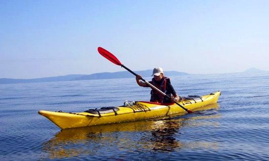 Unforgettable Kayak Adventure In Rabac, Croatia