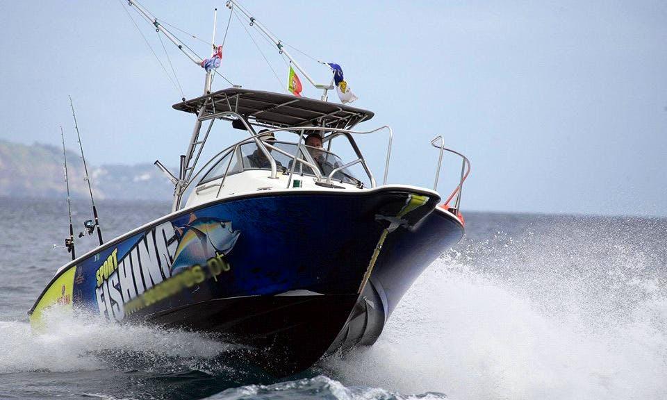 23' Fishing Boat In Ponta Delgada