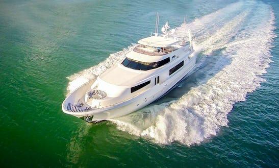 112' Westport Luxury Power Mega Yacht