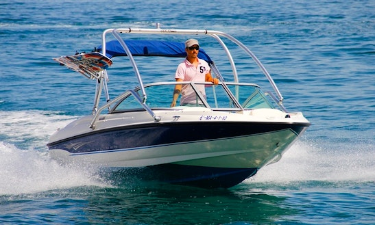 Enjoy A Ride On This Bowrider In Estepona, Spain