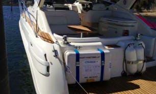 Boat Charter on Cranchi Zaffiro on the Douro River