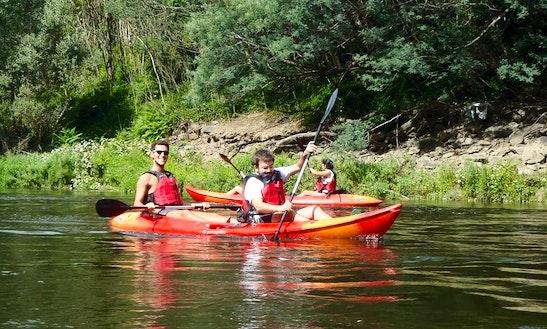 Tandem Kayak Trip On The River Mondego