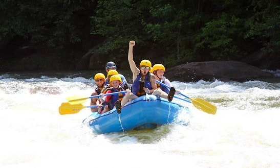 Whitewater Rafting Trips In  Ducktown