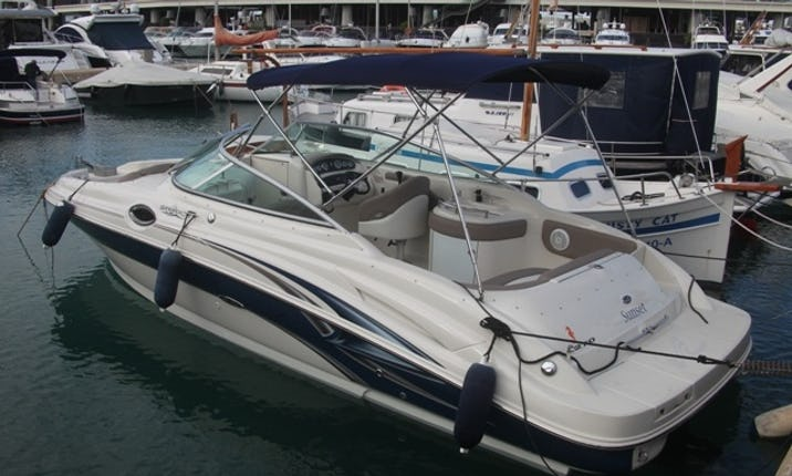 Luxury Sea Ray 270 Sundeck Bowrider Spain in Spain | GetMyBoat